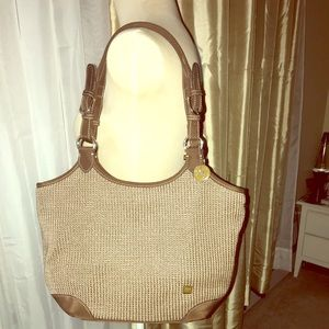 The Sak brown shoulder bag